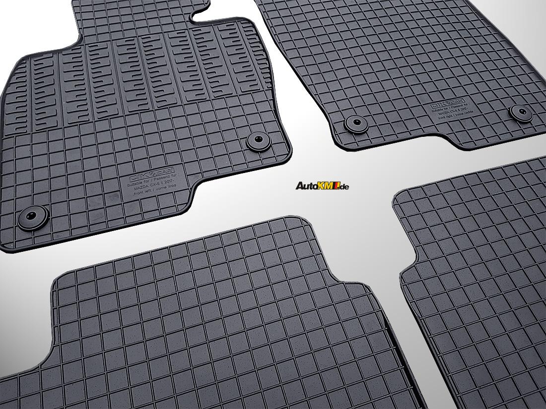 gummi fu matten mazda cx 5 ii cf 2017 cikcar. Black Bedroom Furniture Sets. Home Design Ideas