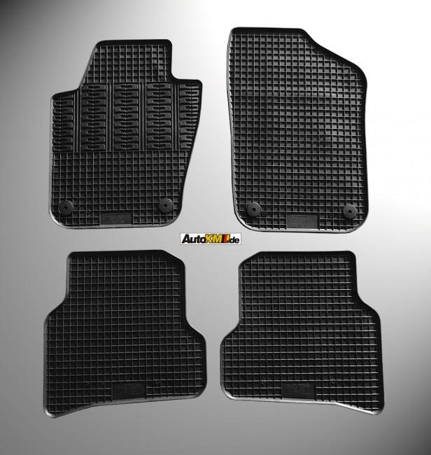 gummi fu matten seat ibiza iv 6j cikcar autozubeh r. Black Bedroom Furniture Sets. Home Design Ideas